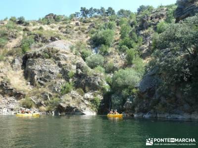 Piragua El Atazar;viajes puente excursiones de fin de semana hacer senderismo en madrid